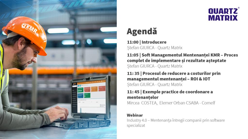 agenda eveniment webinar kmr